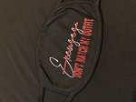 Black Mask w/glitter-Excuses Don't Match My Outfit