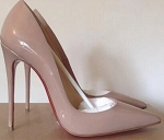 Nude-Red Bottom Stiletto