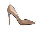 Gold Pointed Toe Heel