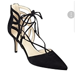 Marc Fisher Lace Up Heel (NWT)