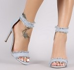 Blue Denim Sandal